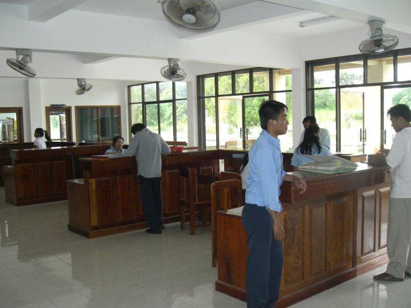 Katasteroffice Laos