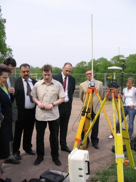 Demonstration GPS-RTK